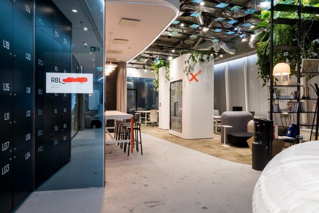 Biuro RBL_ - projekt Studio Robert Majkut Design dla Alior Bank