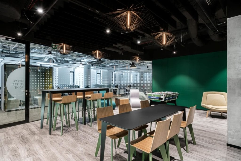 Biuro Santander Bank Polska w Lublinie projektu The Design Group - zdjęcia Fotomohito