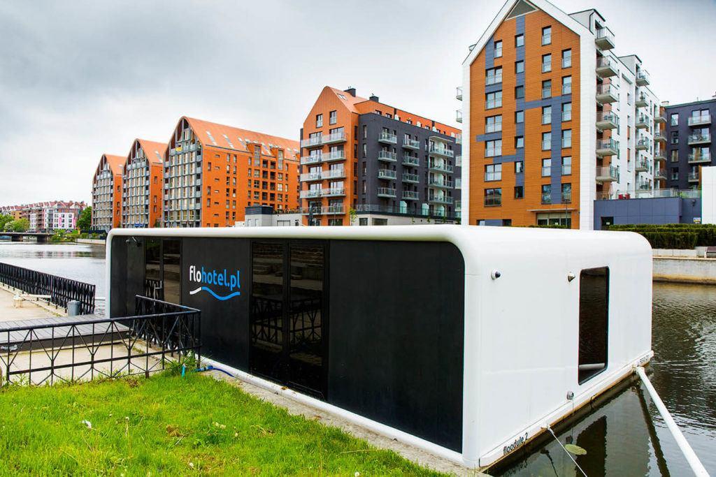 FloHotel - butikowy hotel na Motławie z inteligentną technologią od ABB