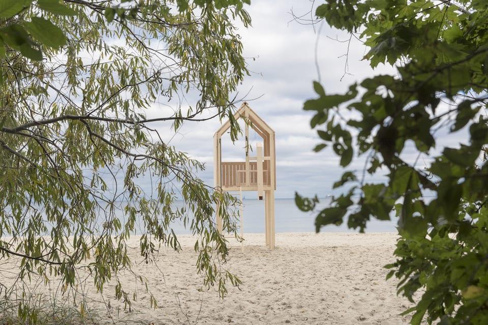 Formy Towarzyskie - jesienny festiwal nad morzem - Zespól pałacowy w Kolibkach - plaża w Orłowie