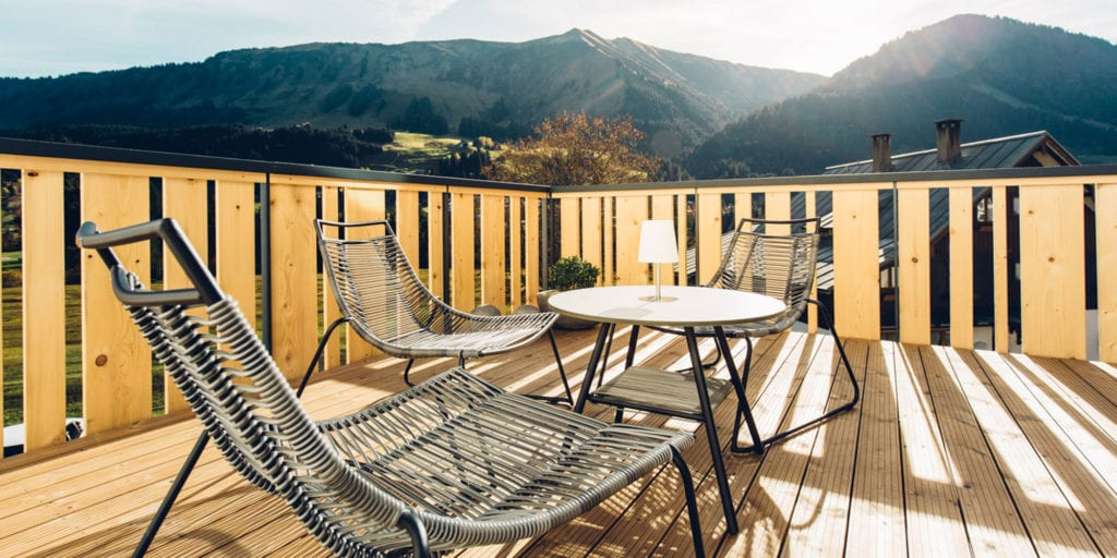 Hotel Sonnenburg - skandynawski azyl w Austrii z BoConcept