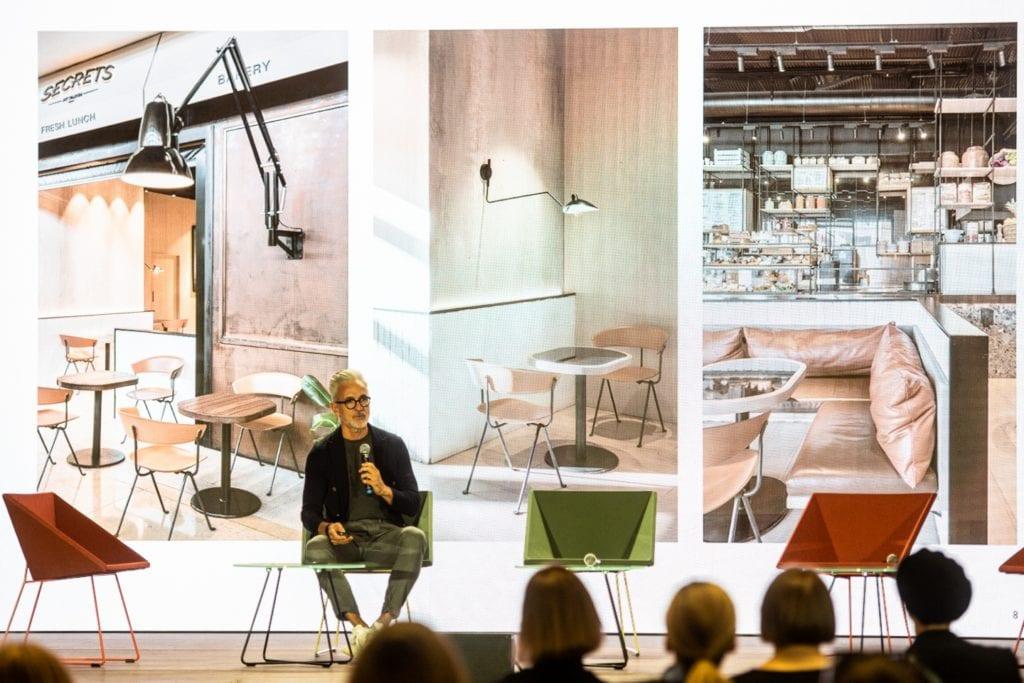 Jaime Beriestain na scenie Design Forum fot. Radek Zawadzki - Warsaw Home Day