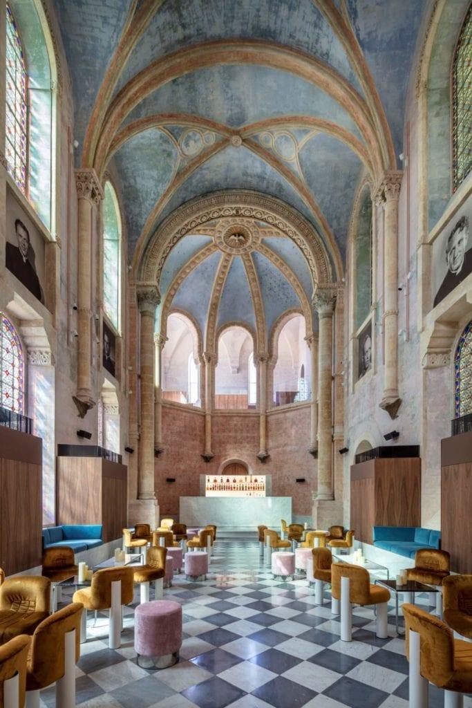 John Pawson i projekt Jaffa Hotel Residences - zdjęcia Amit Geron - kaplica w hotelu