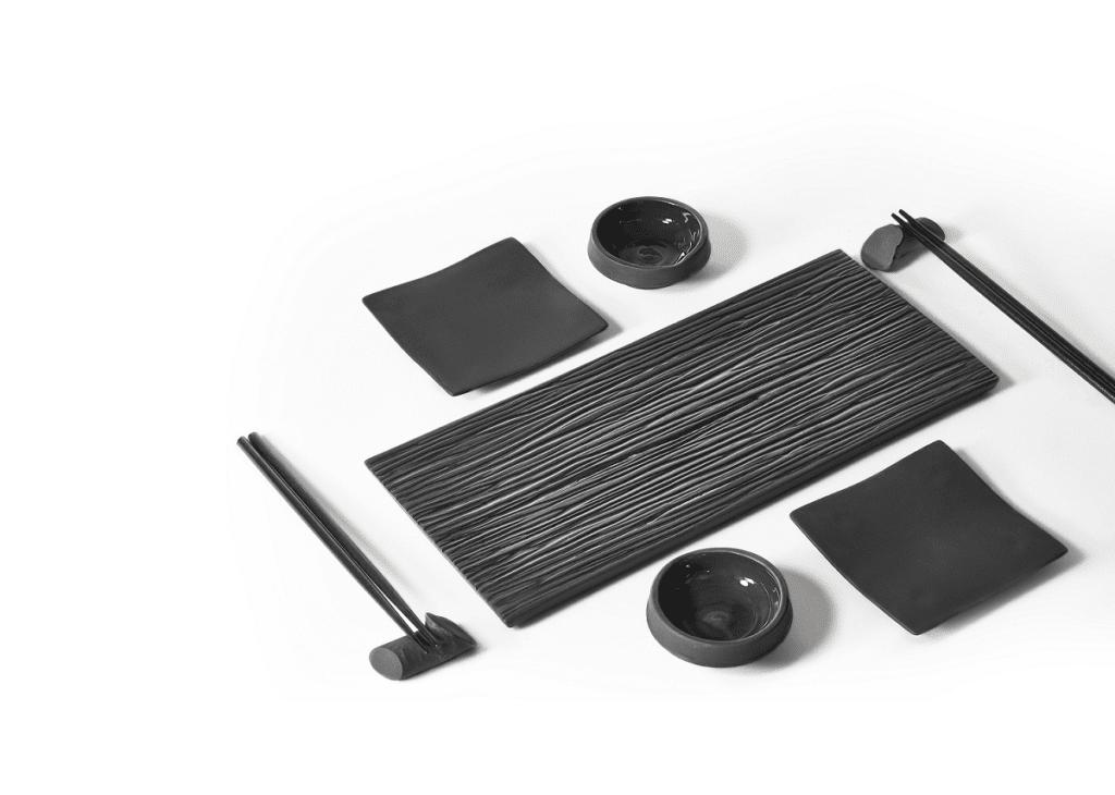 Kolekcja ZEN - zestaw do Sushi dla dwóch osób od Ćmielów Design Studio