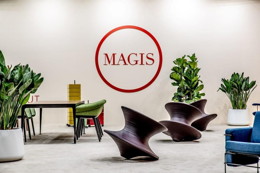Międzynarodowe targi wyposażenia wnętrz Warsaw Home stoisko marki - Magis-plndesign