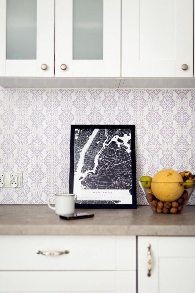 Plakaty Himaps - dekoracje ścienne pełne wspomnień - plakat z czarną mapą