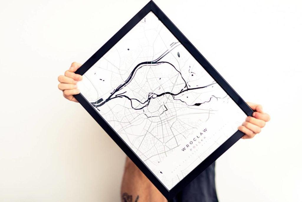 Plakaty Himaps - dekoracje ścienne pełne wspomnień - plakat mapa