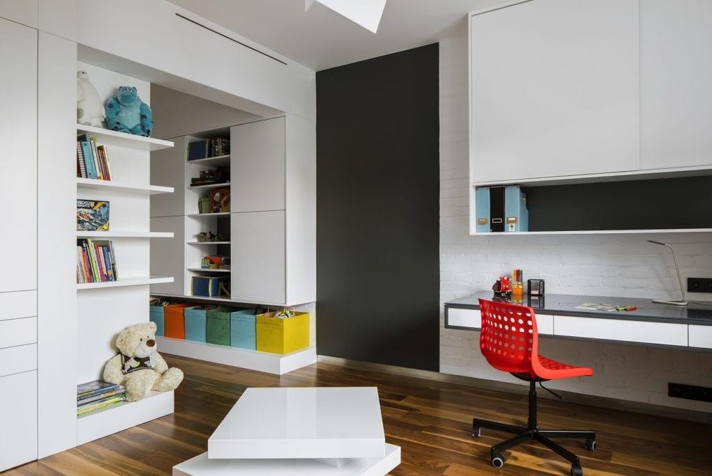 Pracownia Inter-Arch Architekci i luksusowa rezydencja w Wilanowie - pokój dziecięcy w rezydencji