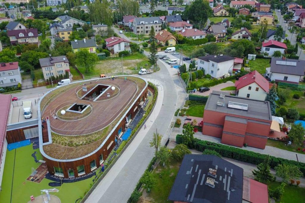 Przedszkole w Żorach projektu pracowni Toprojekt