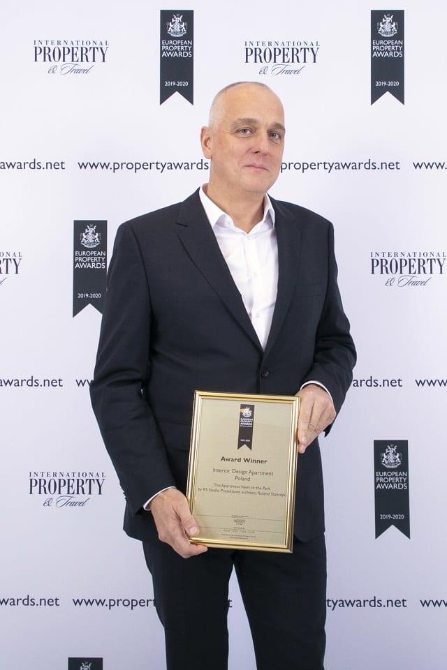 Roland Stańczyk - RS Studio Projektowe z nagrodą International Property Awards