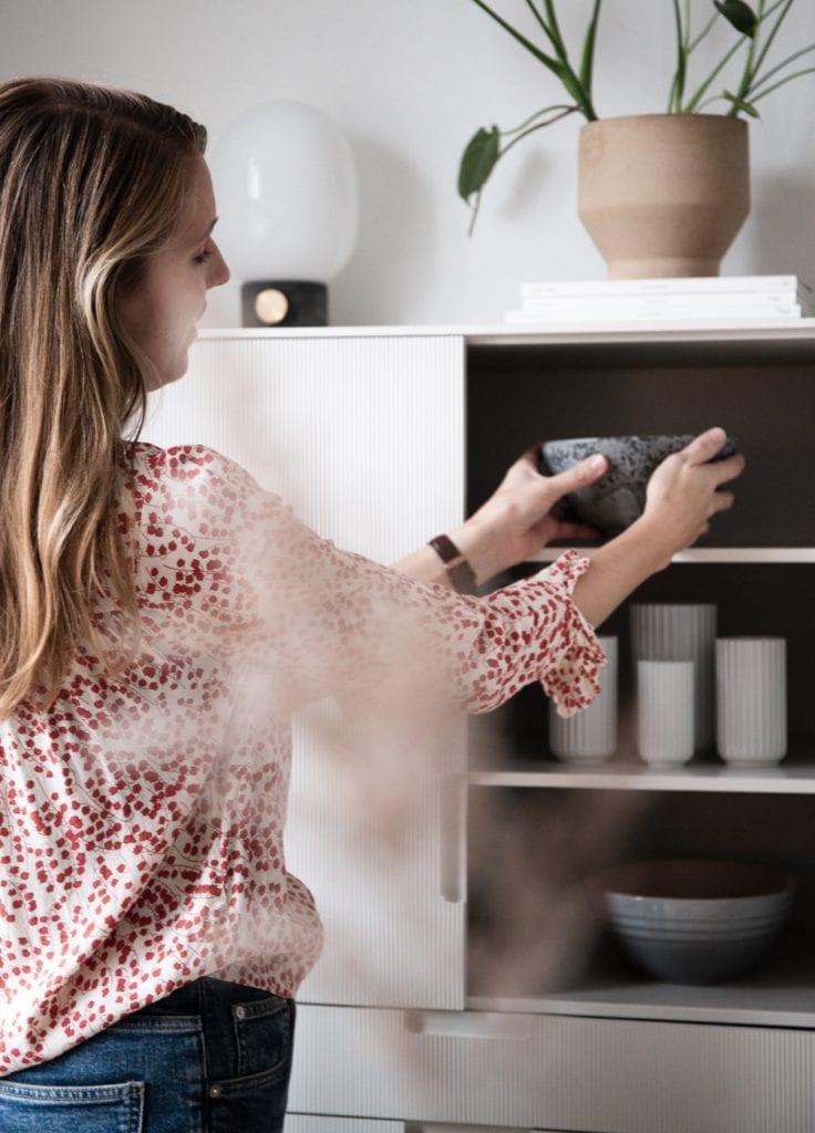 Wnętrze mieszkania duńskiej bloggerki Pernille Baastrup