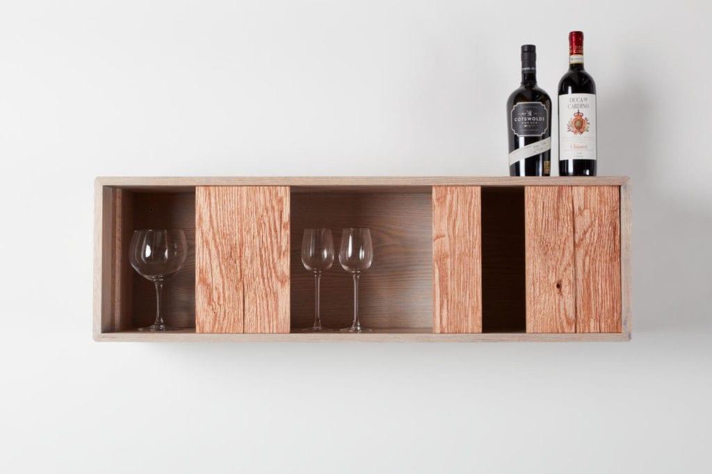 Wystarczą dwie deski czerwonego dębu - projekt AHEC i Rycotewood Furniture - Alfie Kingham