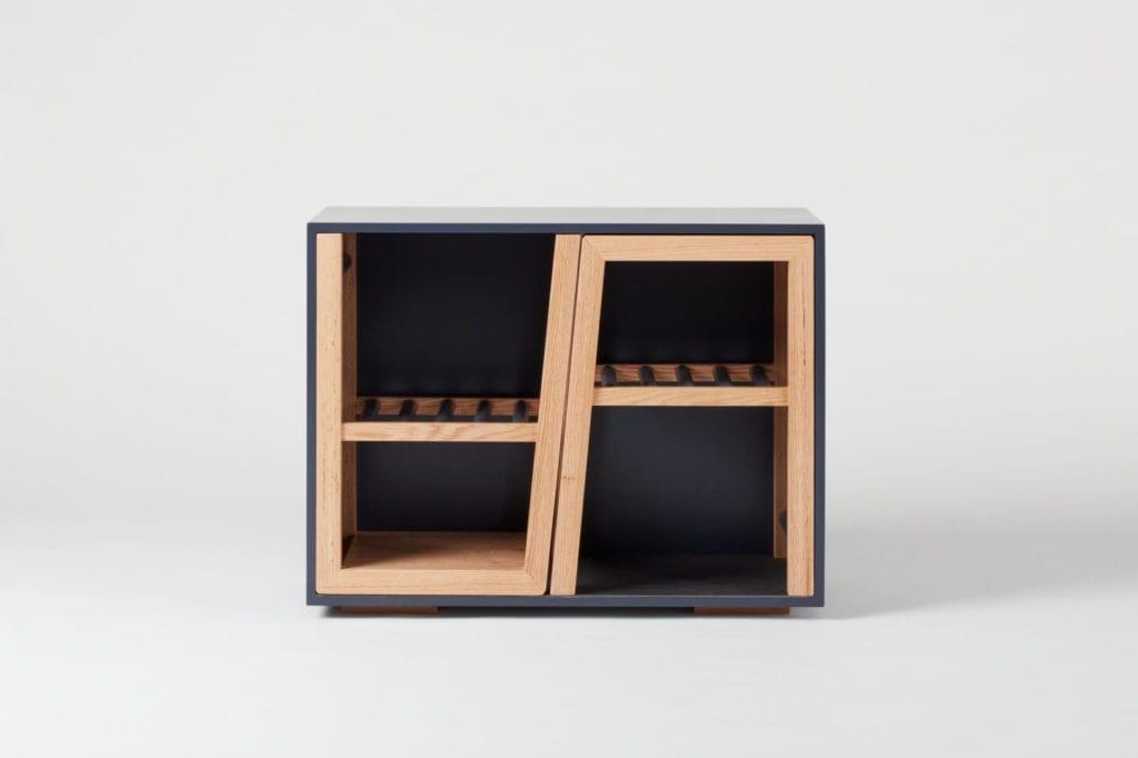 Wystarczą dwie deski czerwonego dębu - projekt AHEC i Rycotewood Furniture - Jack Salvidge