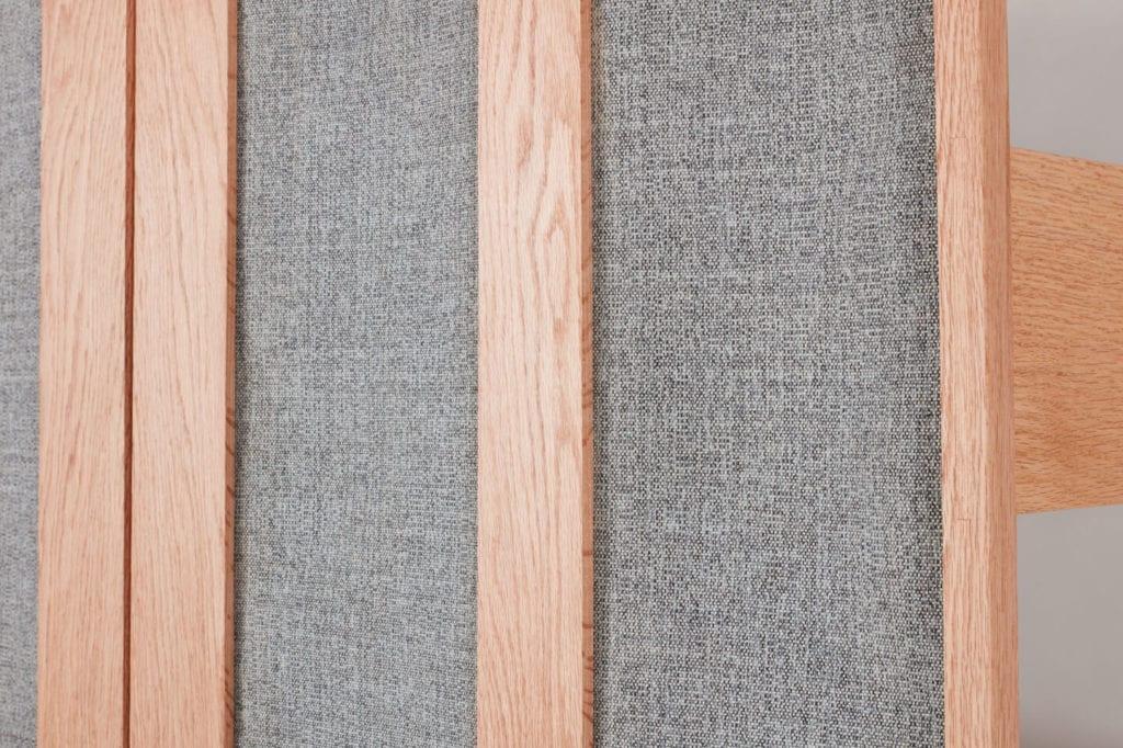 Wystarczą dwie deski czerwonego dębu - projekt AHEC i Rycotewood Furniture - Jamie Waite