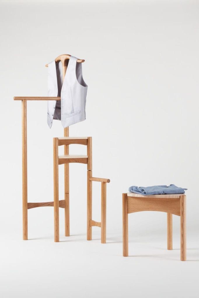 Wystarczą dwie deski czerwonego dębu - projekt AHEC i Rycotewood Furniture - Peter Marlow