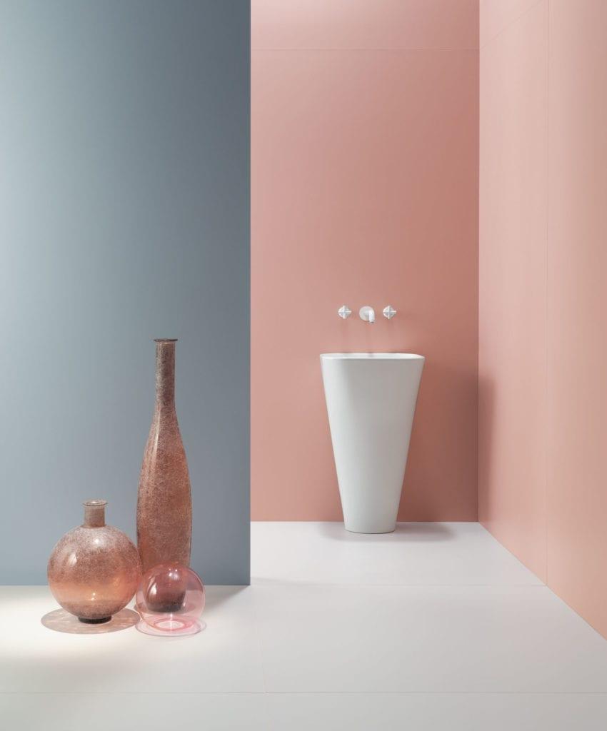 Cielo e Terra - kolekcja płytek ceramicznych Doroty Koziary dla marki Tubądzin
