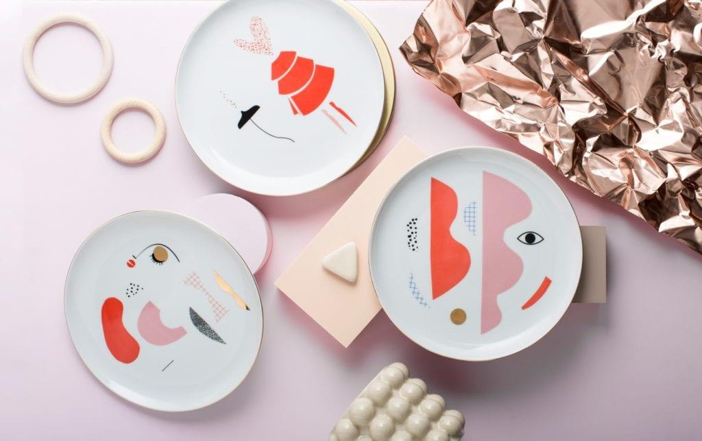 Co pod choinkę? 83 pomysły na prezent Made in Poland - inspiracje i porady na świąteczne prezenty - talerze projektu Look at me Plates