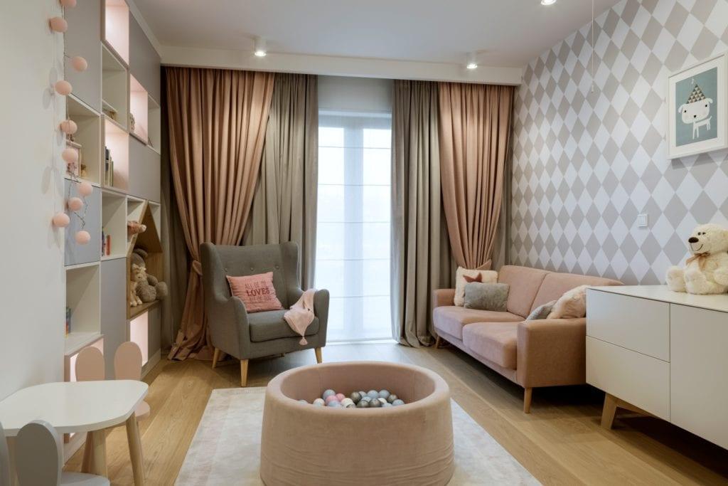 Dom projektu HOLA Design w świątecznej stylizacji - pokój dziecięcy