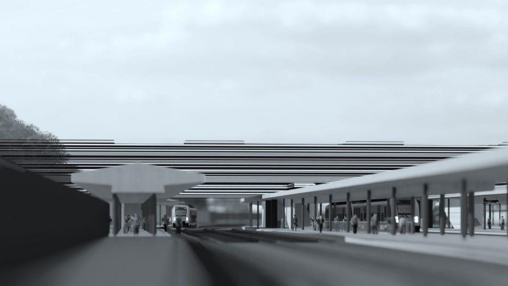 Dworzec Częstochowa Główna projektu pracowni Toprojekt