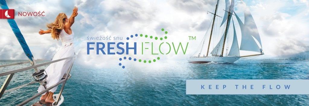 Łóżka przyszłości istnieją - materace z technologią Freshflow od marki Senactive