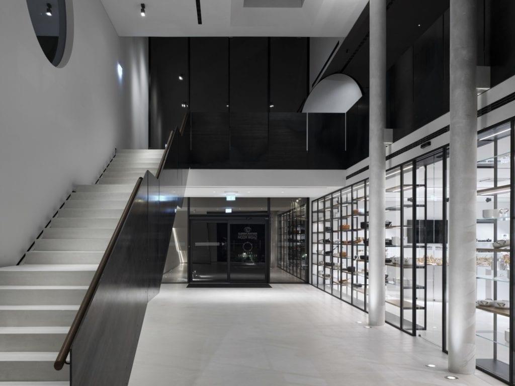 Marco Acerbis Studio i projekt restauracji Bolle dla Agnelli Cooking Tools - wnętrza restauracji