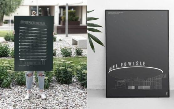 Zuti Grafika – plakaty architektoniczne od polskiej marki