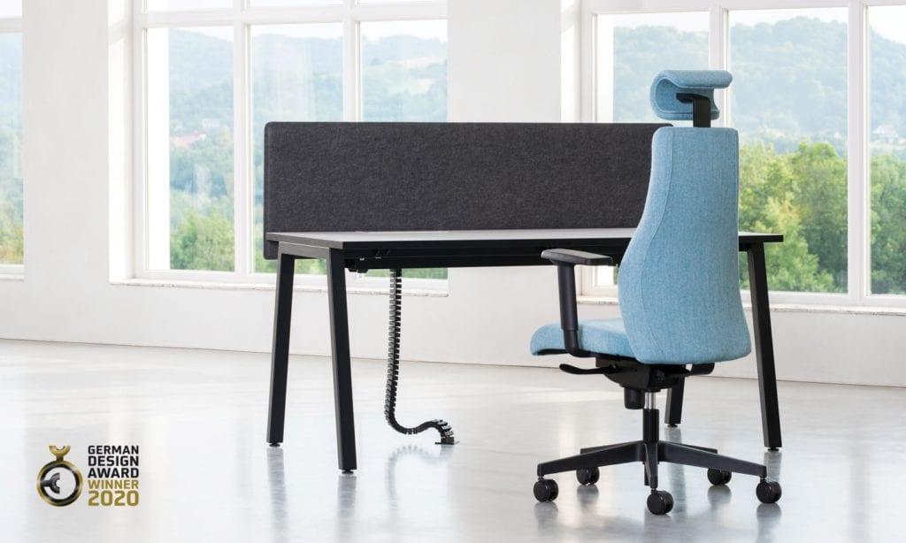 Play&Work Soft Seating oraz biurko CS5040 od marki Nowy Styl z nagrodą German Design Awards