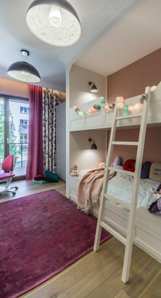 Pracownia Viva Design i luksusowy apartament w Warszawie - pokój dziecięcy