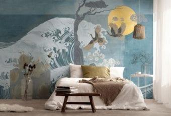 Wabi-sabi, street art i duch orientu – trendy w aranżacji ścian