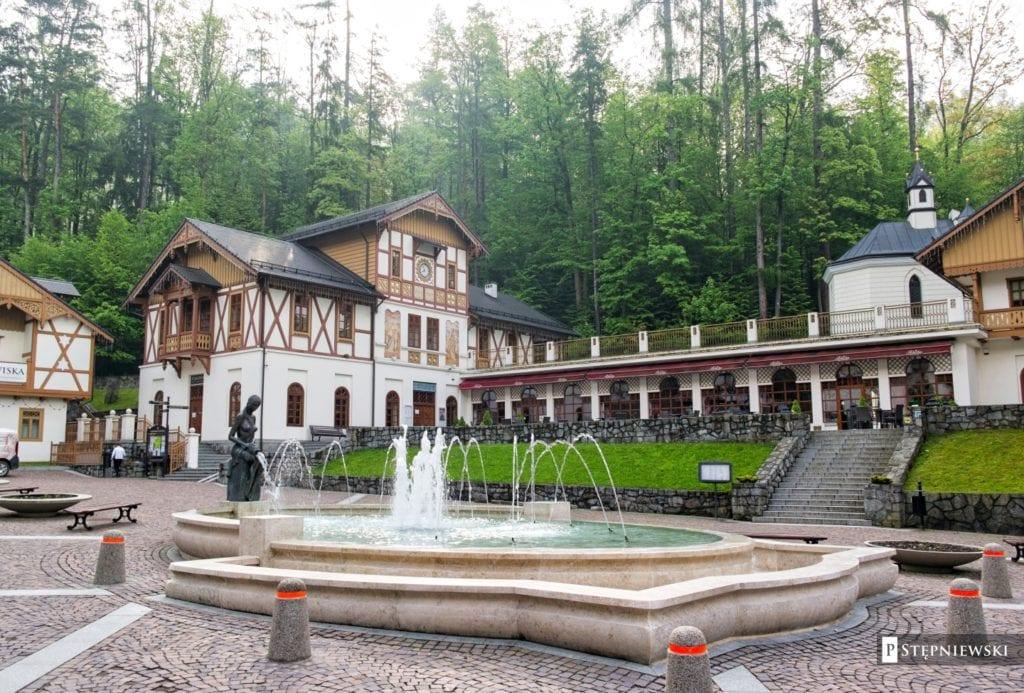 Uzdrowisko Szczawnica - górski kurort stworzony z emocji - Plac Dietla
