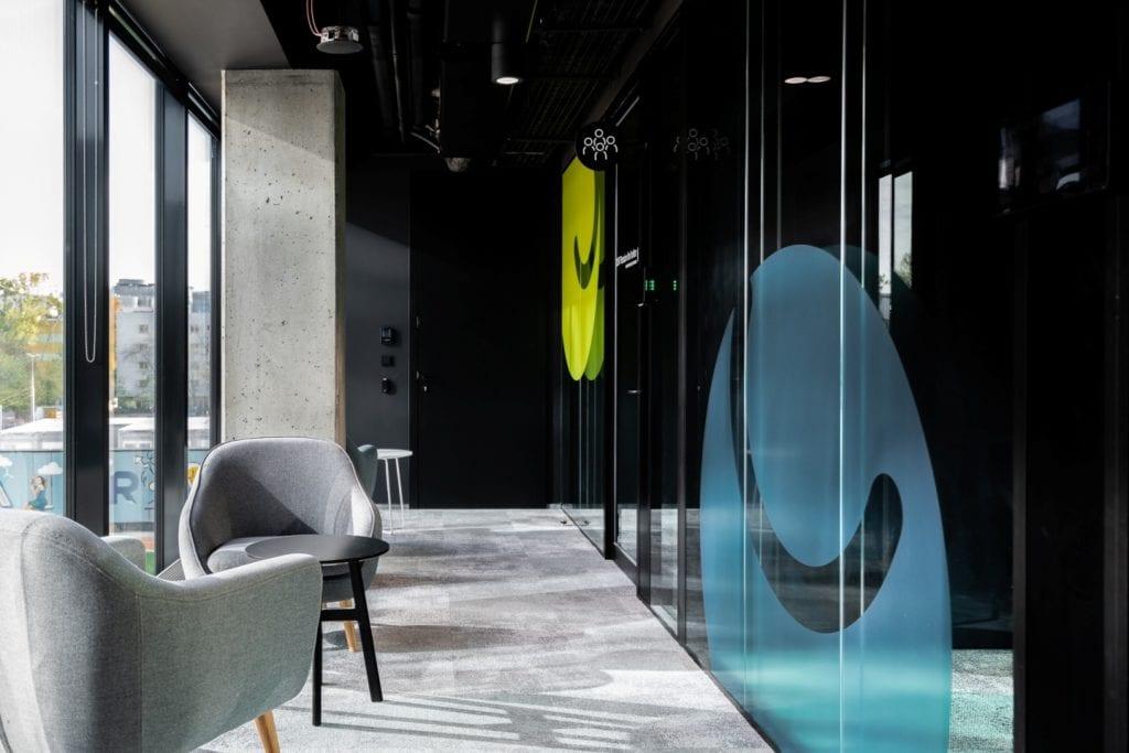Warszawskie biuro UPC projektu The Design Group