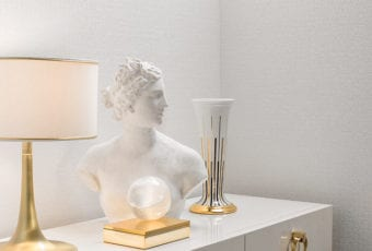 Złoto i srebro w nowoczesnych wnętrzach