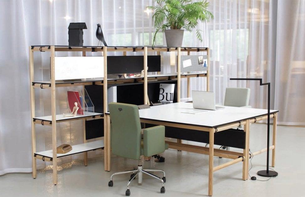 10 designerskich rozwiązań do przestrzeni biurowych - Dan bulo