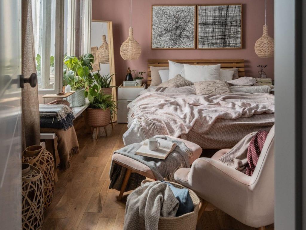 Aranżujemy sypialnię - porady, inspiracje, wskazówki - VOX łóżko Nature