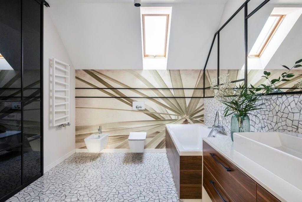 Dom w Suchym Dworze - jasna łazienka