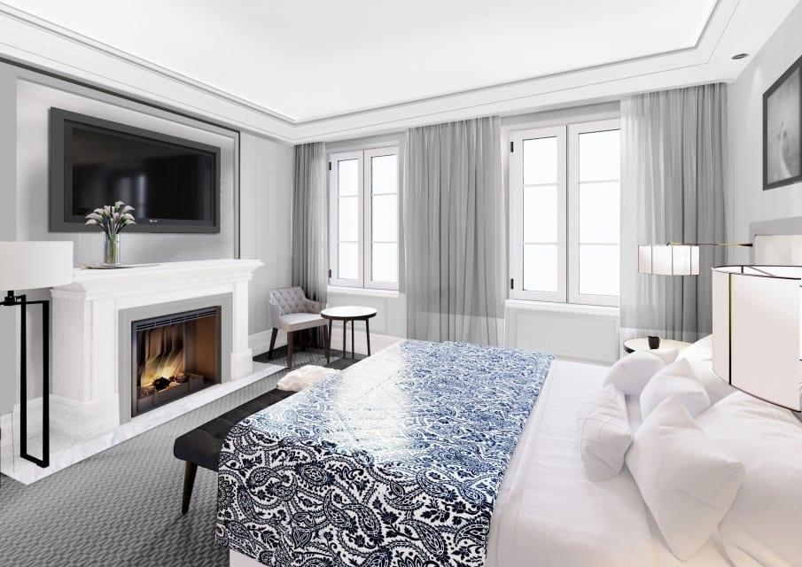 Hotel Sixty Six - Warszawa - projekt Iliard