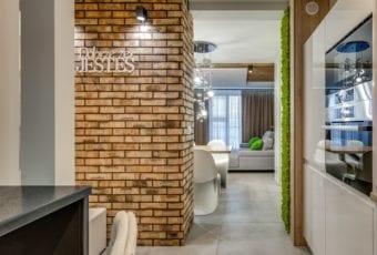 Marmo Design i mieszkanie z widokiem na miasto