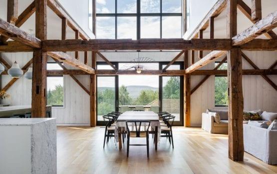 La Firme i przemiana opuszczonej stodoły w przepiękny dom