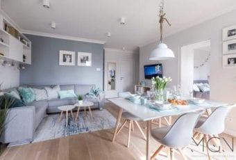 MGN Pracownia Architektoniczna i mieszkanie z miętowymi akcentami