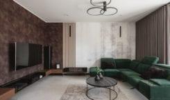 Wnętrza domu w Suchedniowie od Kaza Interior Design