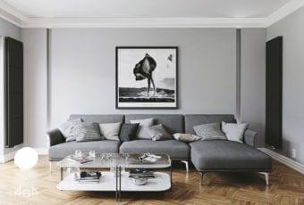 Minimalistyczny projekt mieszkania w Poznaniu