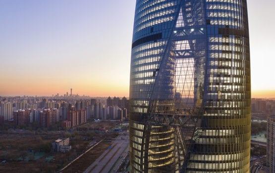 Projekt Leeza SOHO Tower w Pekinie