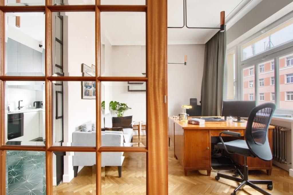 W+M Architektura i projekt biura na warszawskim Mokotowie
