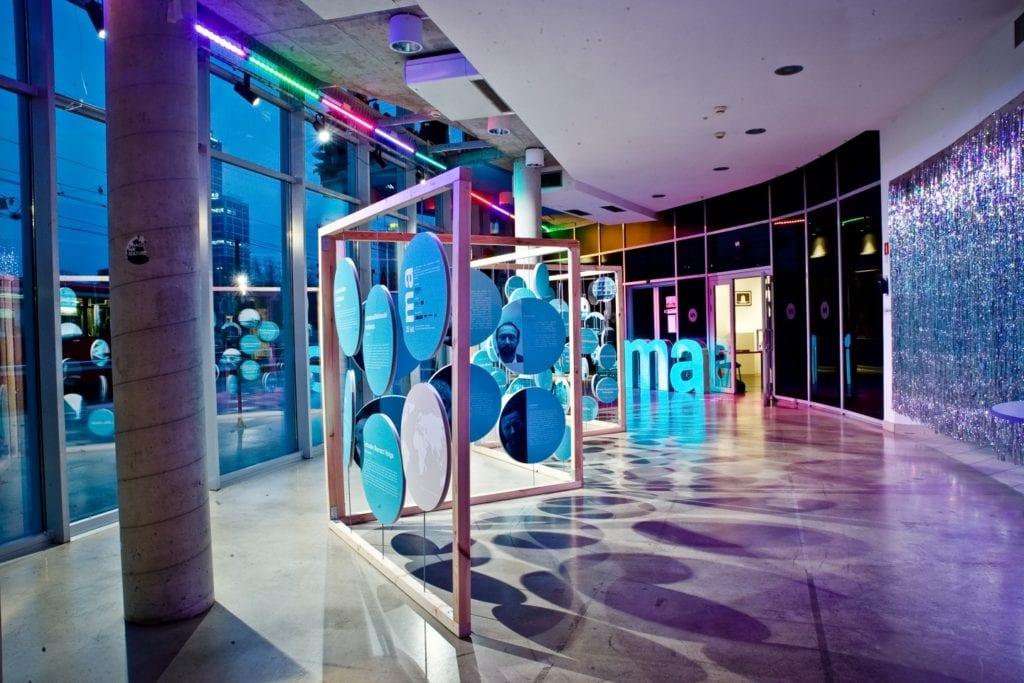 Wystawa z okazji 15-lecia cyklu Mistrzowie Architektury organizowana przez SARP Katowice