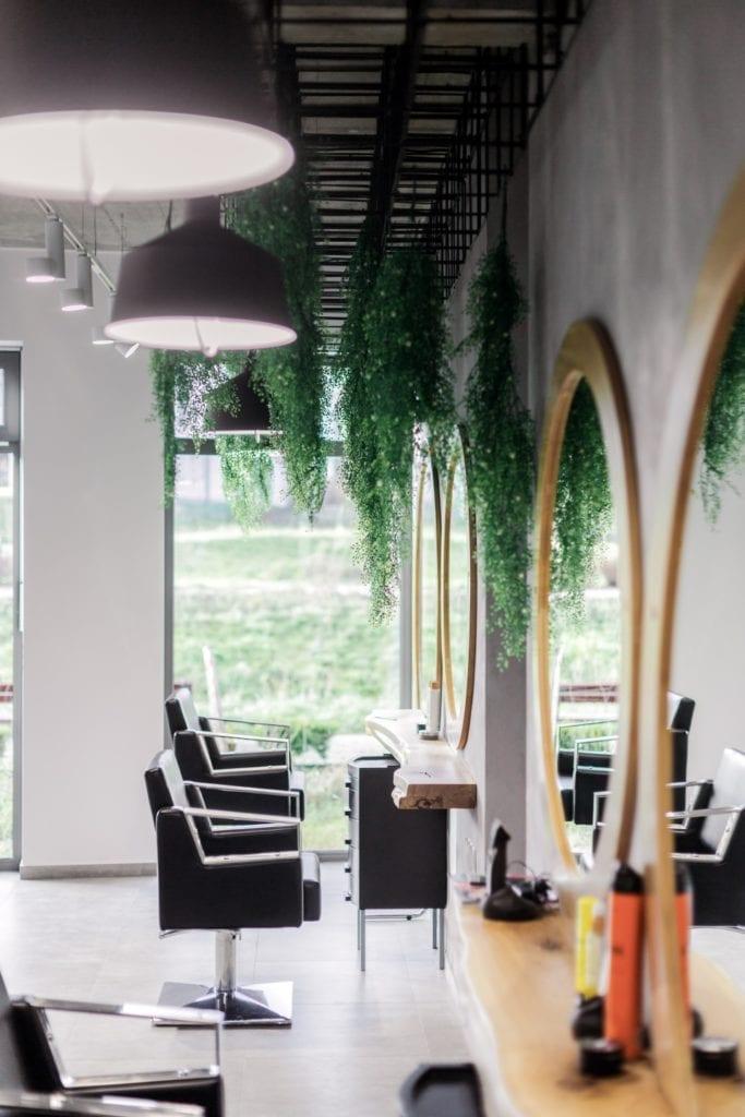 Creativ Hair - salon fryzjerski w Bytowie - industrialny klimat - projekt LOFFT - Małgorzata Hendrych-Lubińska