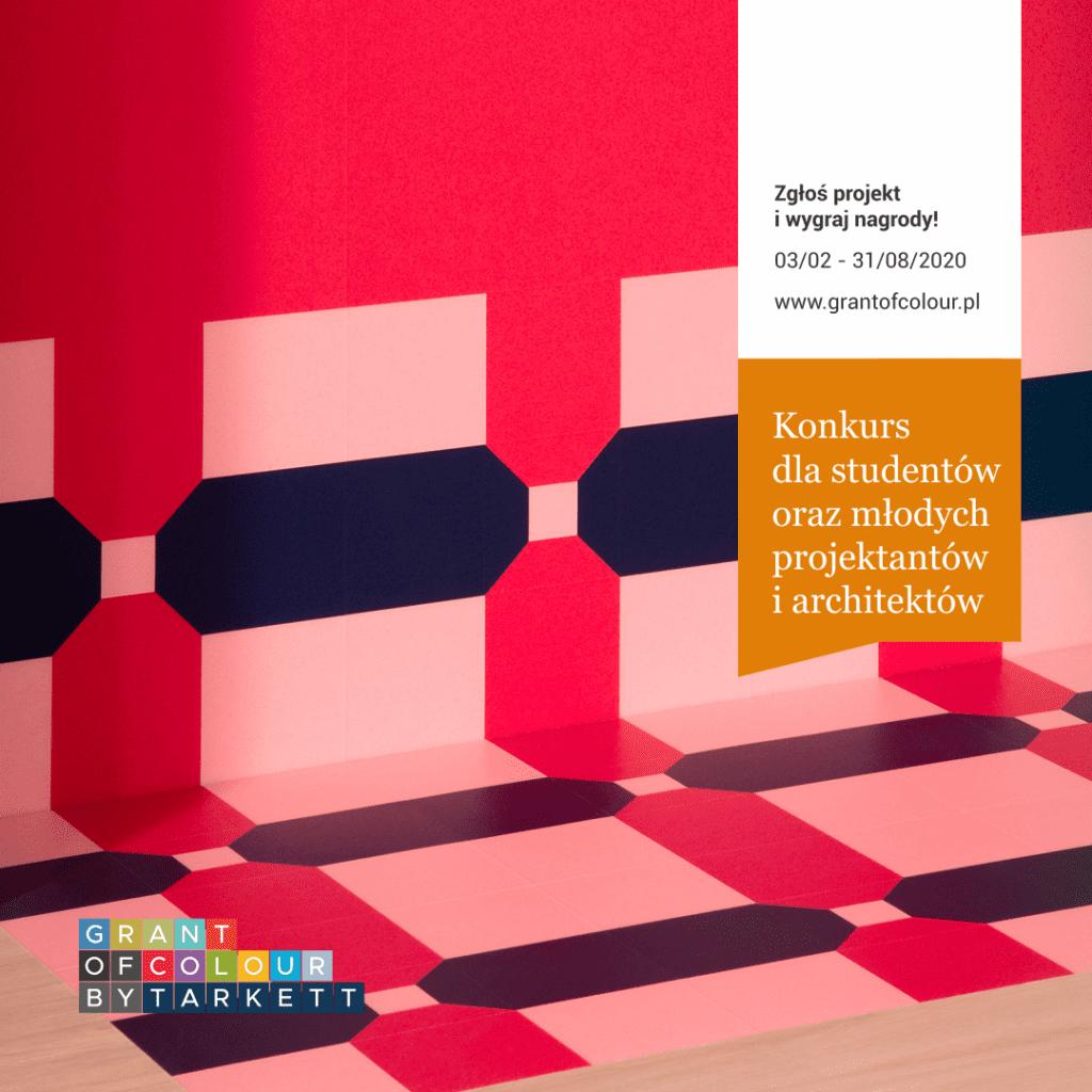 Grant of Colour by Tarkett - konkurs dla architektów