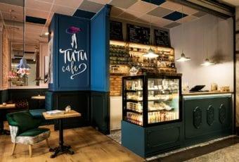 Kawiarnia Tutu Cafe projektu pracowni Poco Design