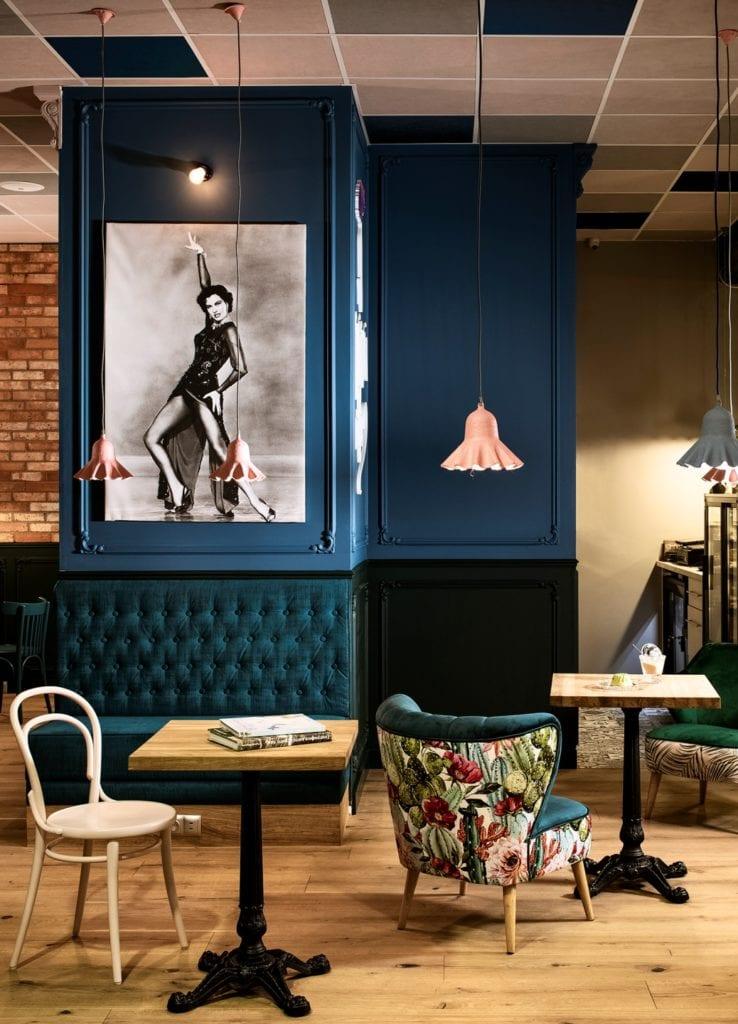 Kawiarnia Tutu Cafe projektu pracowni Poco Design - Patrycja Suszek-Rączkowska
