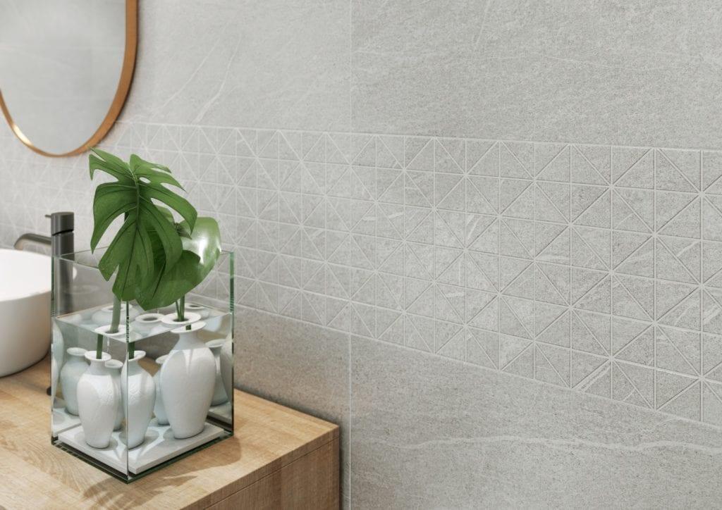 Marka Opoczno i wyjątkowy marmur oraz kamień o niezwykłej powierzchni gniecionego papieru - kolekcja Grey Blanket oraz Carrara Chic