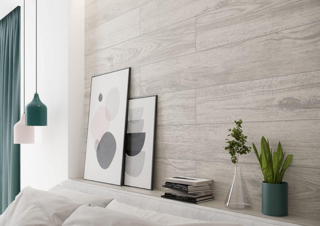 Organic Wood - płytki inspirowane naturalnym drewnem od marki Cersanit - BUCKWOOD WHITE